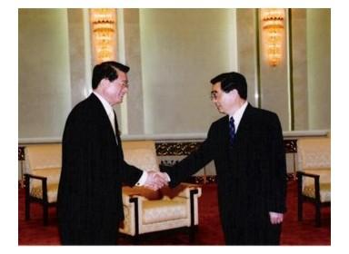 이영주박사와 중국 후진타오 주석