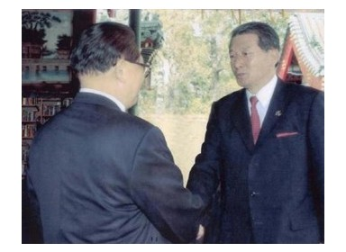 이영주 박사와 중국 장쩌민 국가주석